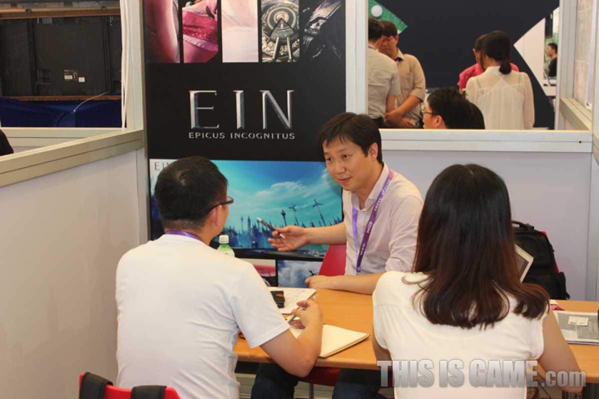 EIN Epicus Incognitus: Новые скриншоты с ChinaJoy 2013