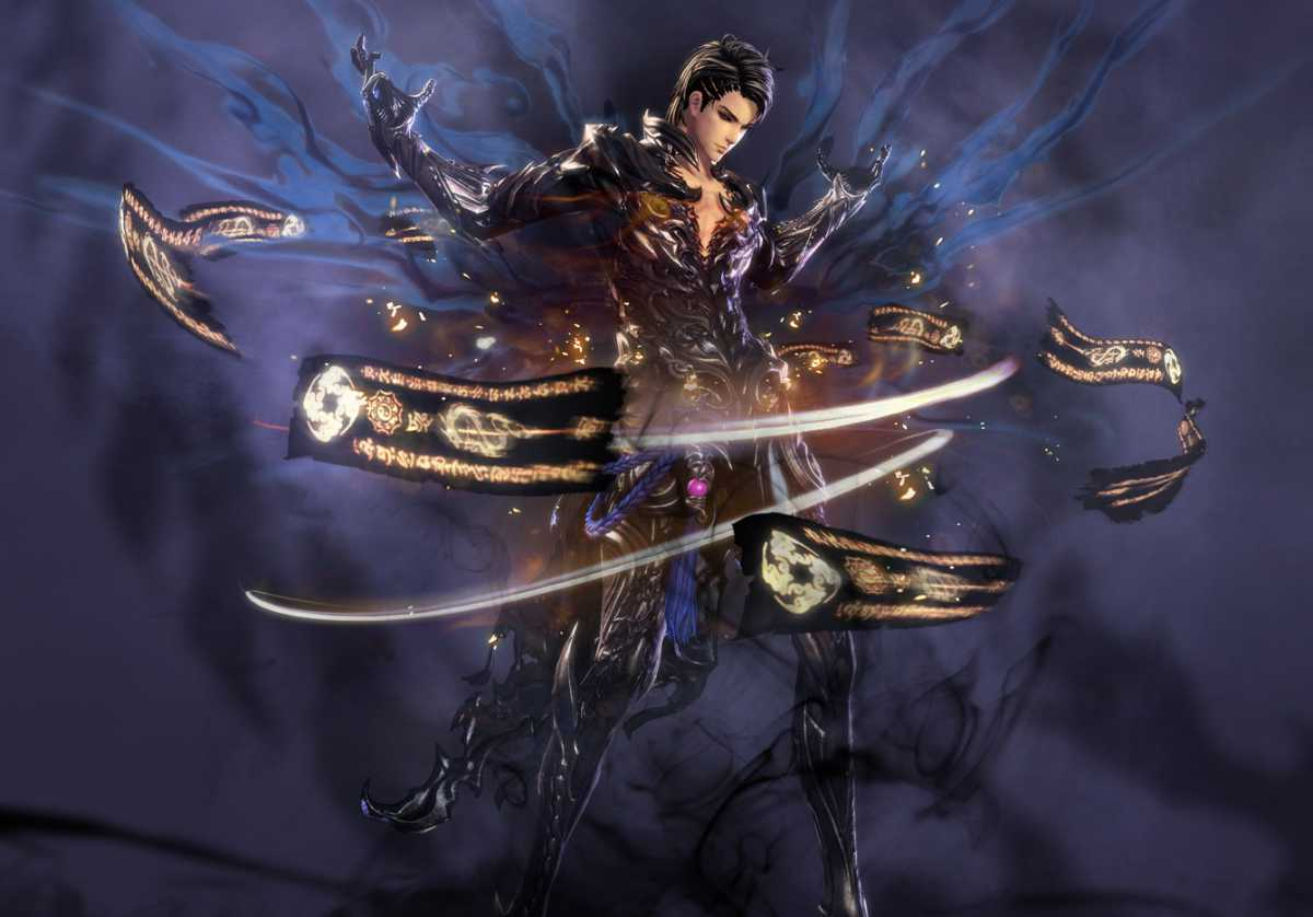 Blade & Soul - Запущен корейский тизер-сайт класса Warlock