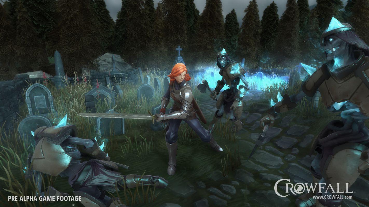 Crowfall - Новые классы и концепция игры