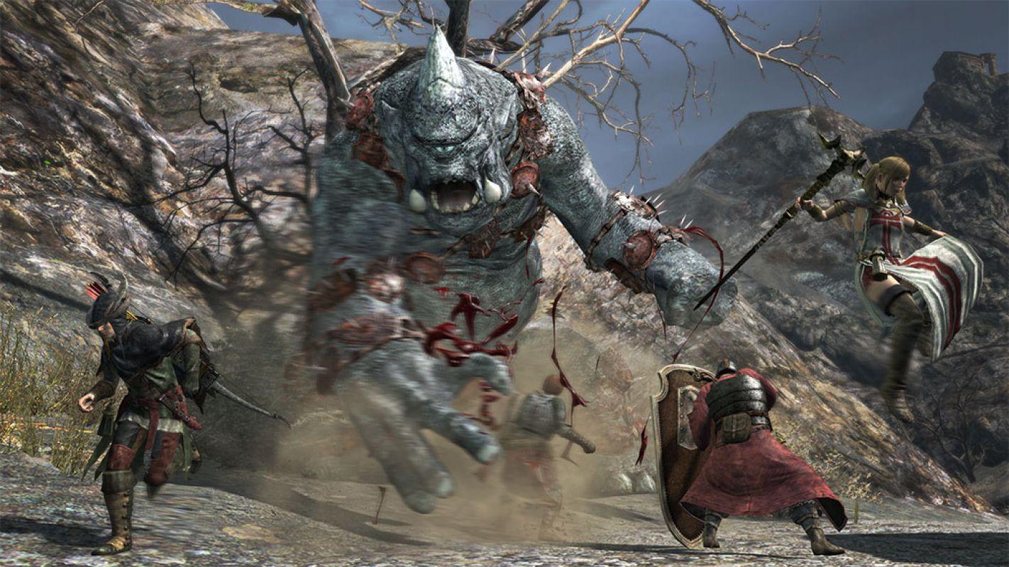 Dragon`s Dogma Online - Знакомство с монстрами
