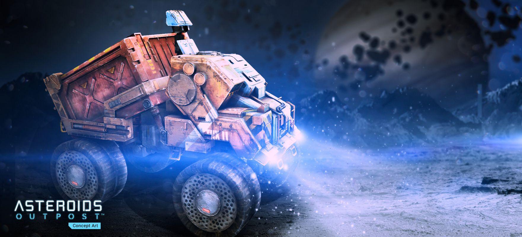 Asteroids: Outpost - Анонс новой