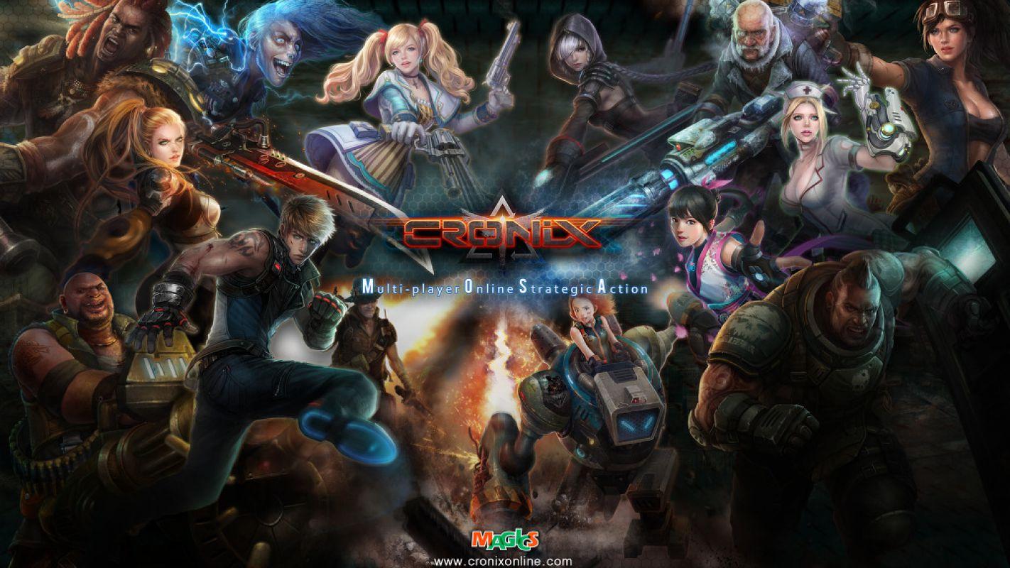 CroNix - Пришелец из Кореи врывается в Steam