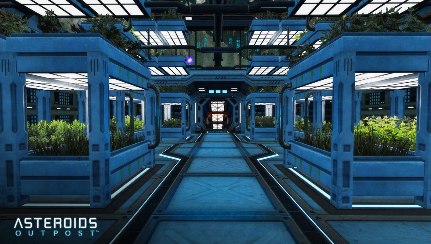 Asteroids: Outpost - Первые скриншоты из игры