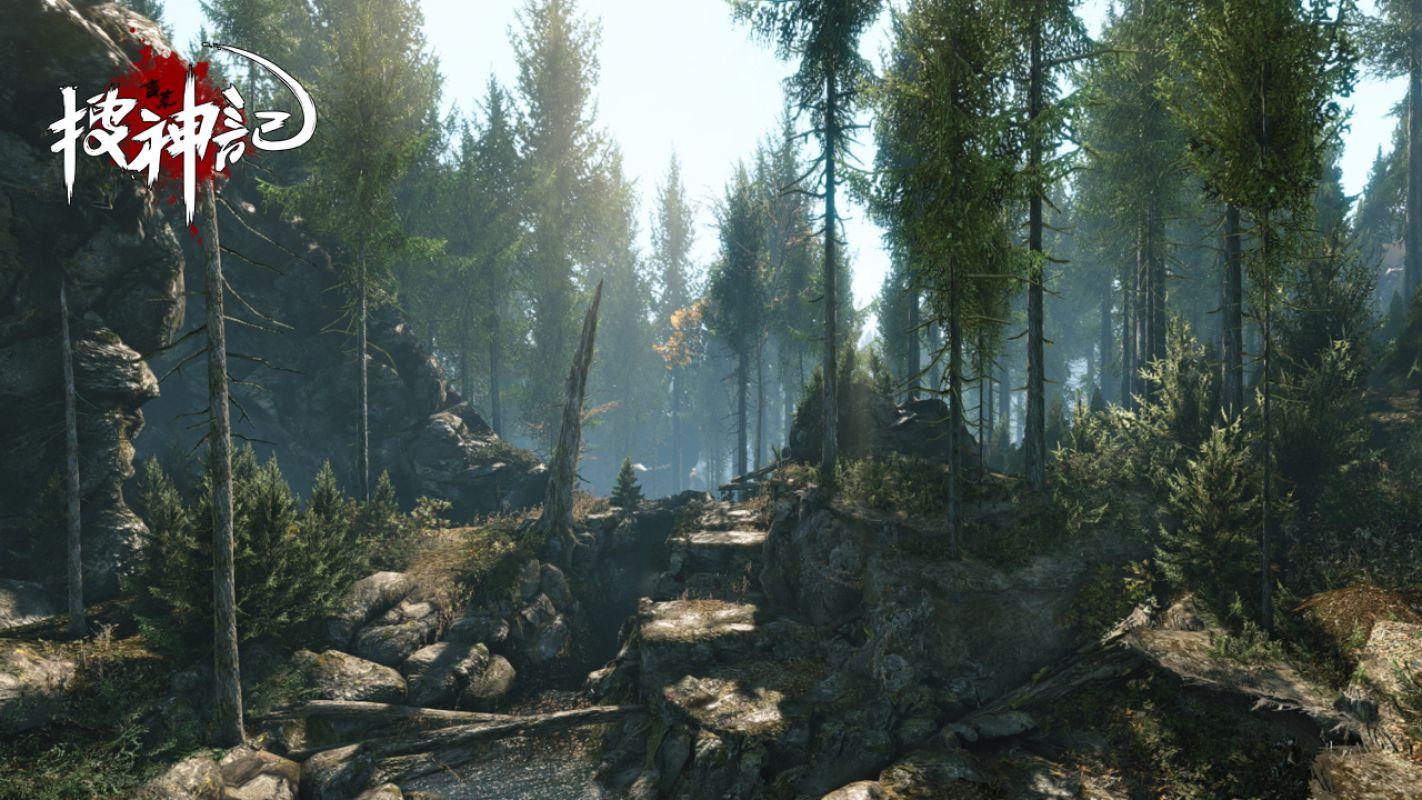 God Slayer - Трейлер и кадры геймплея новой нон-таргет Action/MMORPG на Cry Engine 3