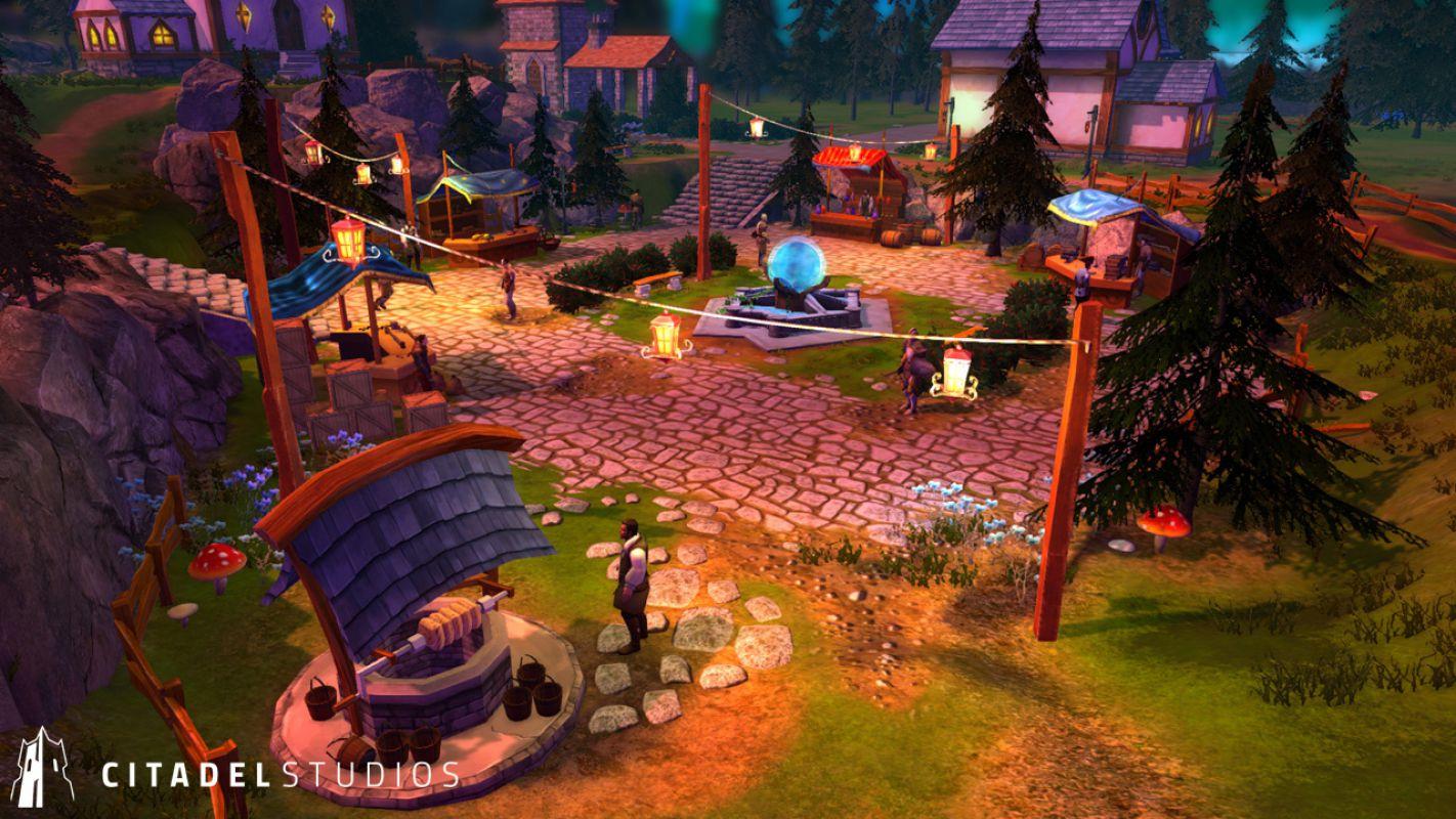 Стартовал ранний доступ Legends of Aria, но не в Steam