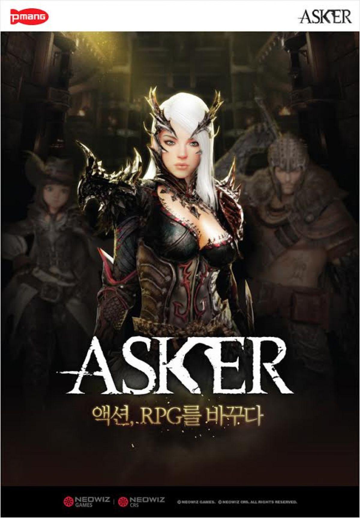 Анонс корейского ОБТ Asker: The Light Swallowers