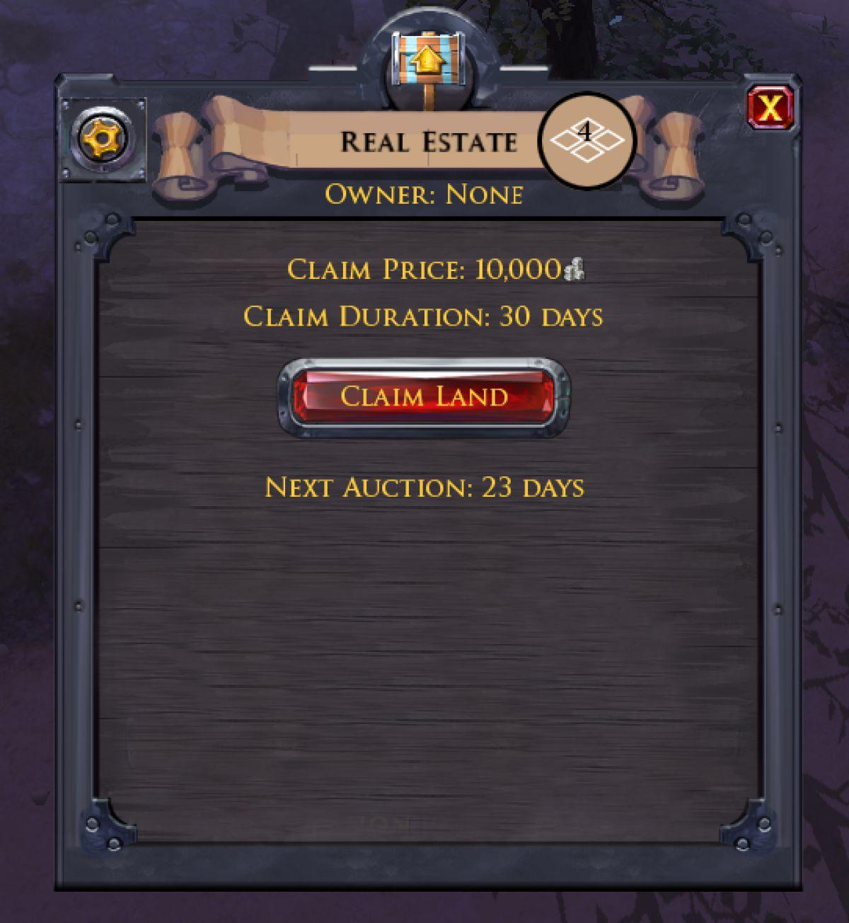 Albion Online - Земельные аукционы
