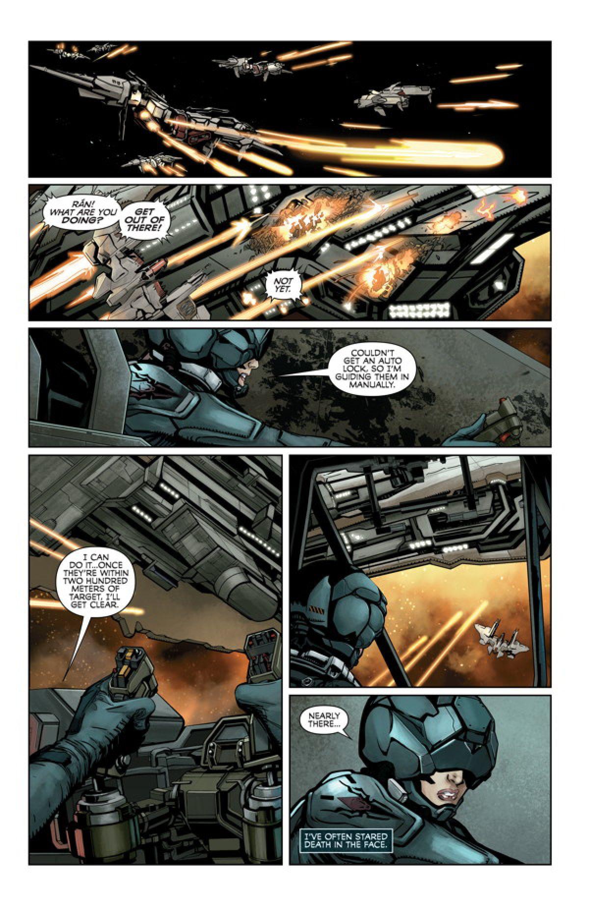CCP Games выпустили тизер-ролик в преддверии запуска серии комиксов по EVE: Valkyrie