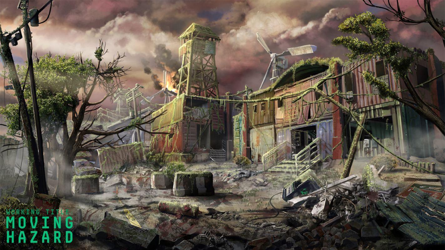 Moving Hazard - Зомби как оружие в новом шутере от Psyop Games и IllFonic