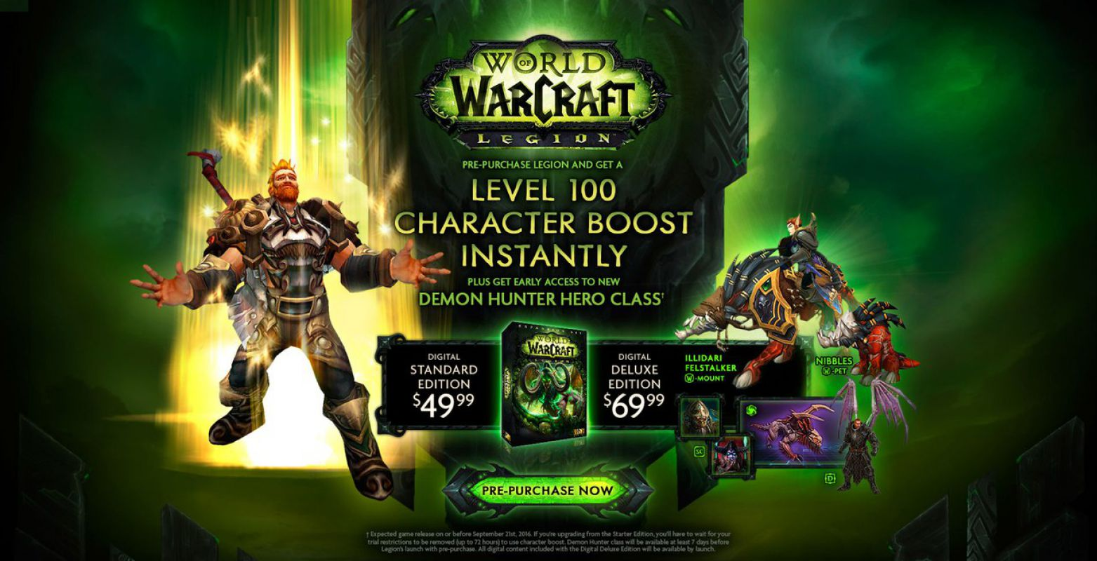 World of WarCraft - Legion приближается!