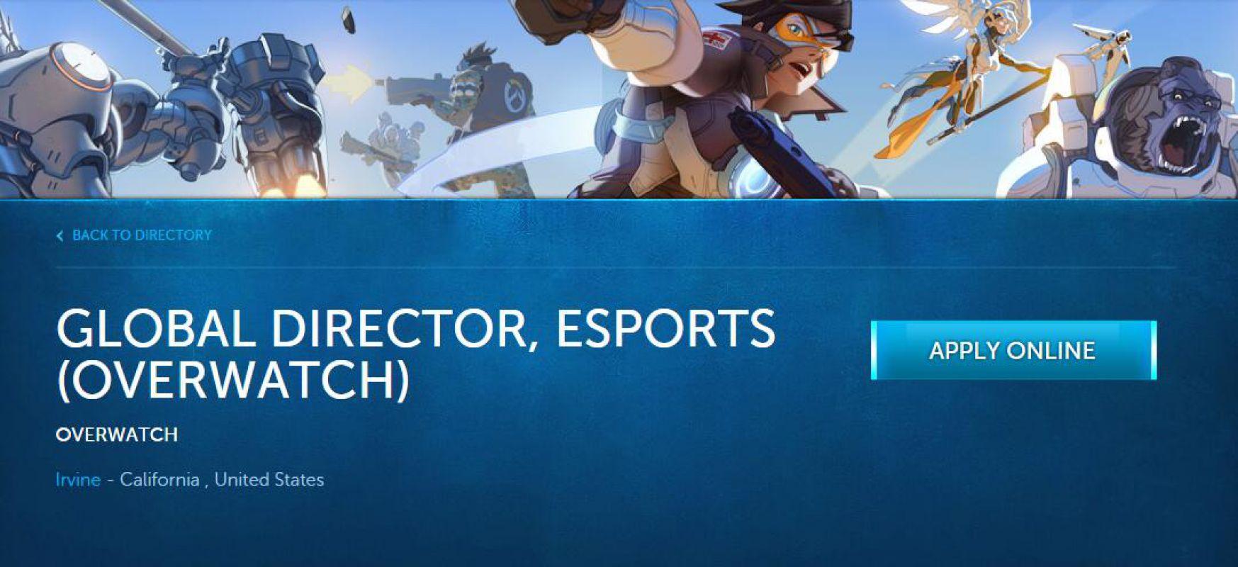 Blizzard ищет разработчика для игры от первого лица