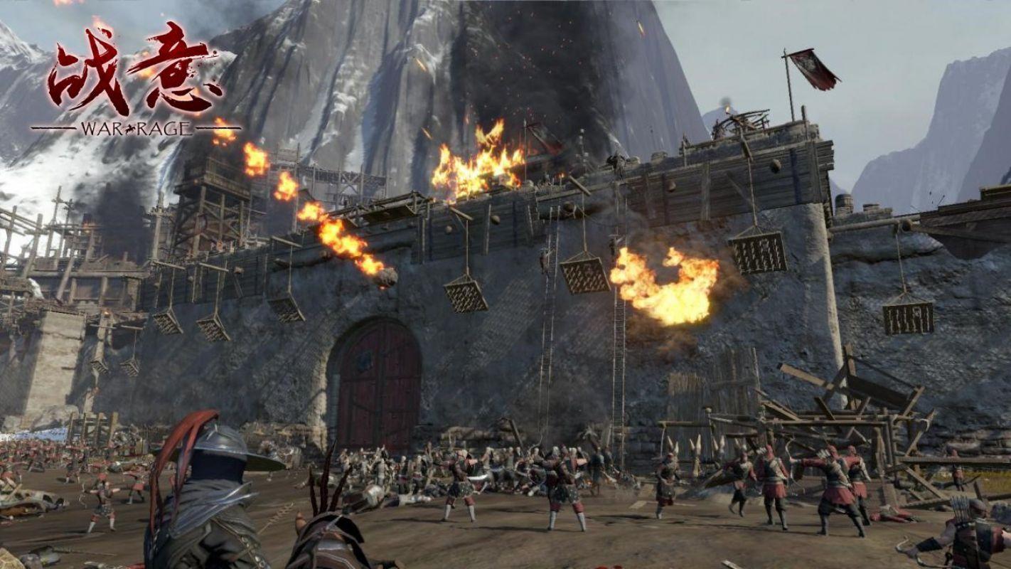 War Rage предстал перед публикой на NetEase Annual Gamer Ceremony 2015