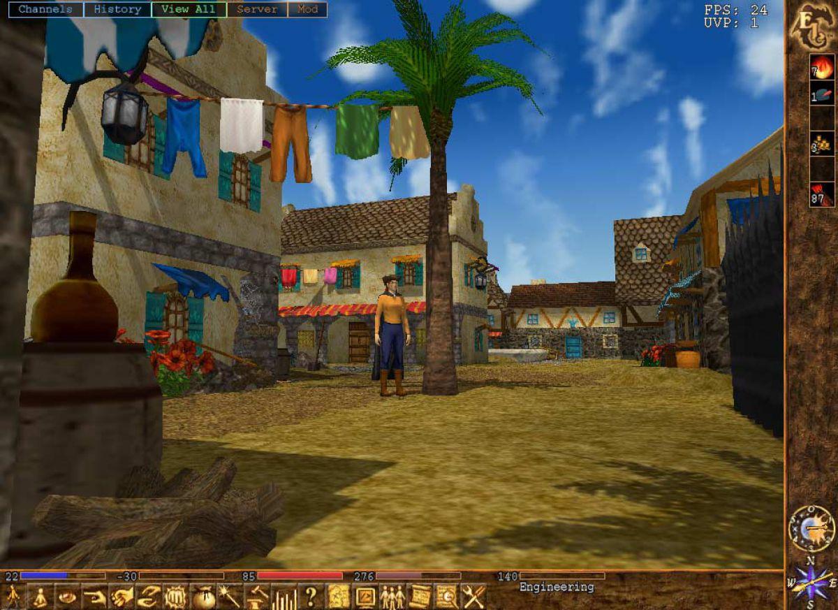 Бесплатно скачать онлайн игру eternal lands ролевая игра кибер-гот
