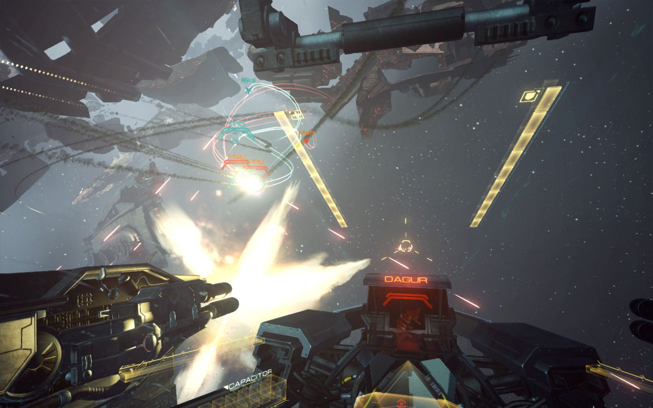 Обзор EVE: Valkyrie - Испытываем альфу убийственного проекта под Oculus Rift