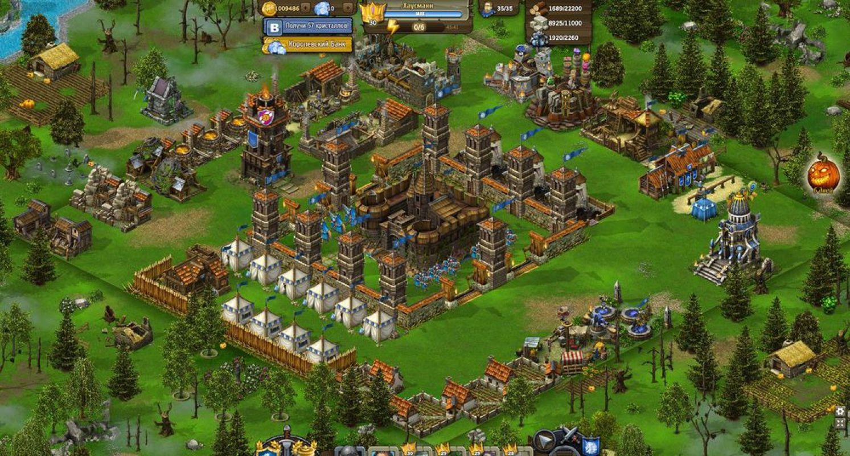 Игры рыцари строительство