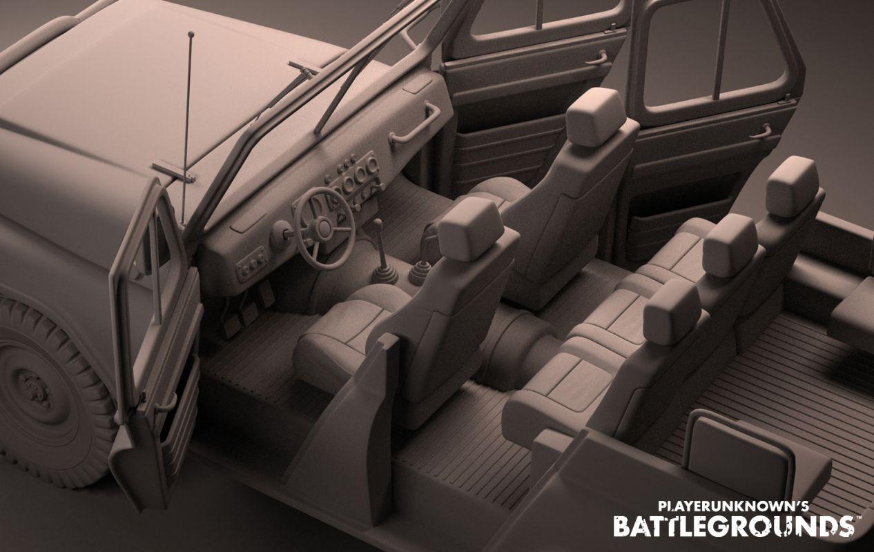 Реализация транспорта в Playerunknown`s Battlegrounds