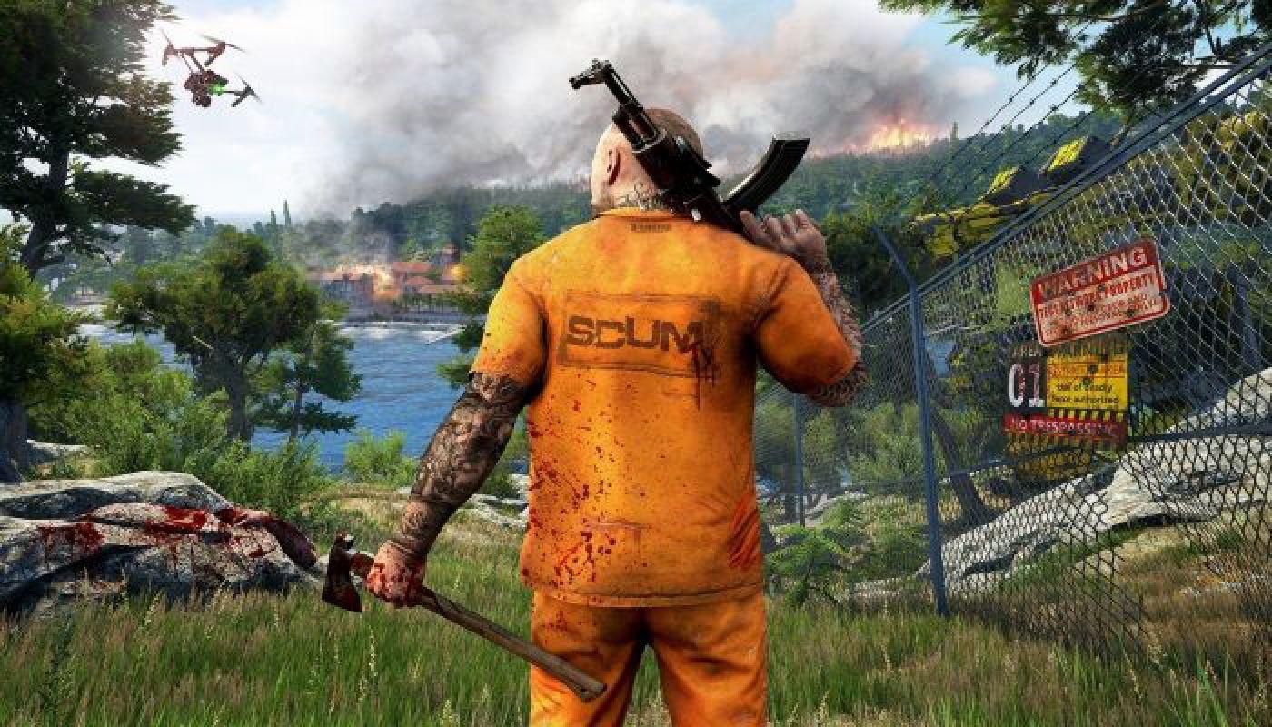 В новом Survival`е Scum игрокам предстоит стать сбежавшим уголовником