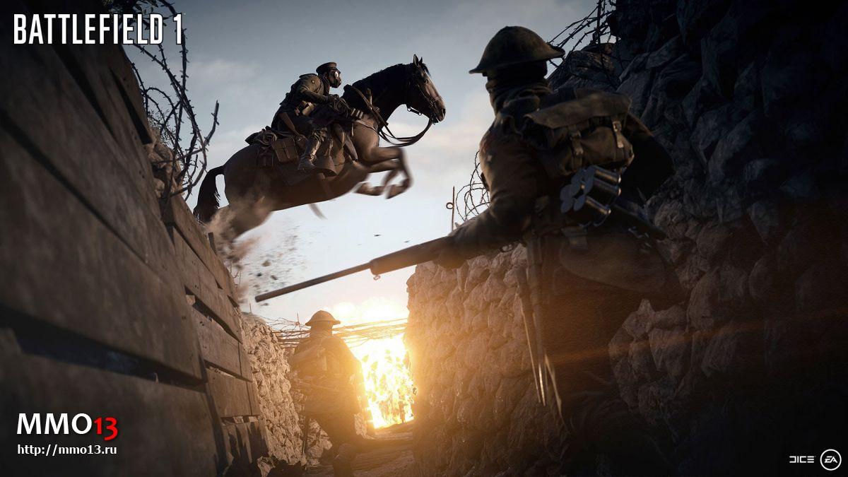 Началось ОБТ Battlefield 1 15276
