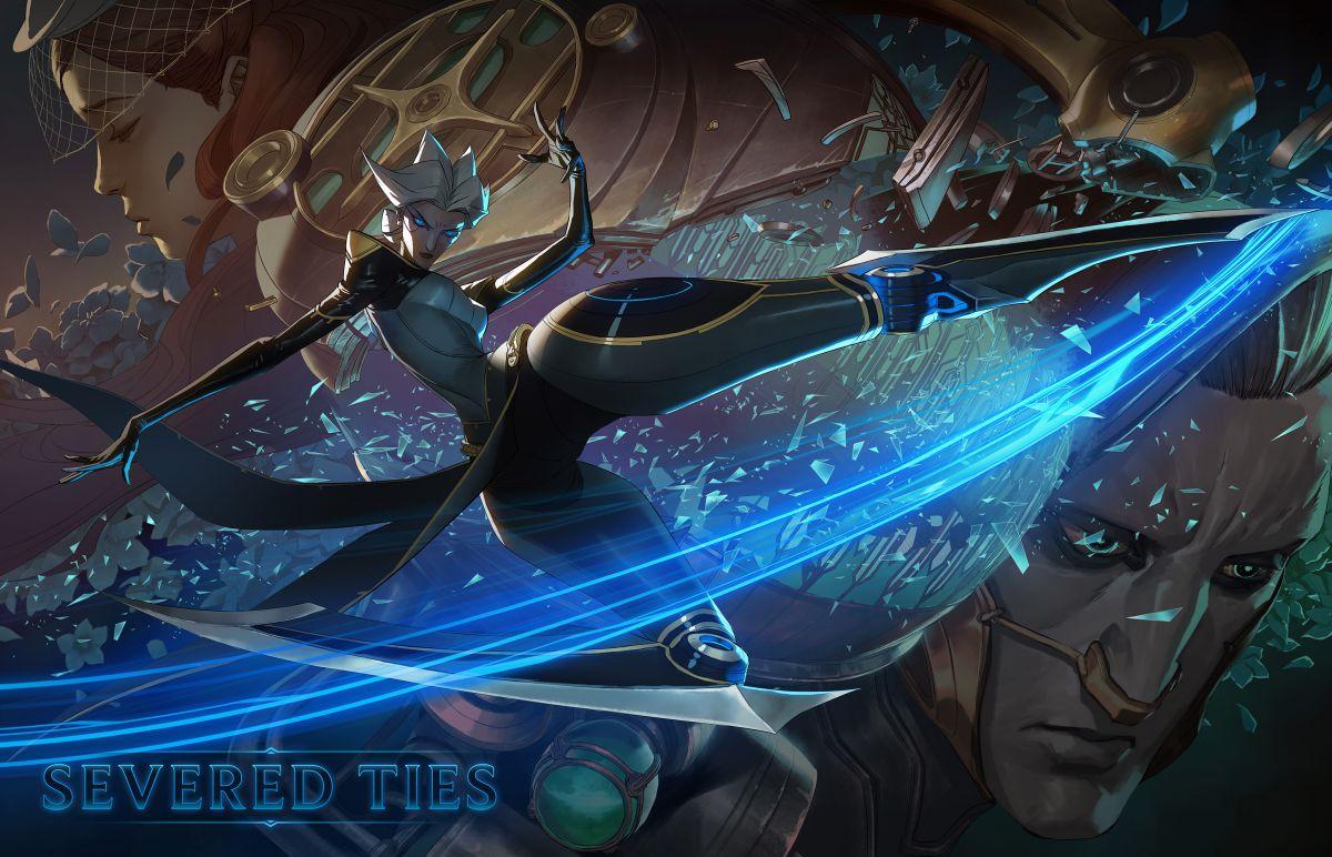 В League of Legends появится персонаж Камилла 16766