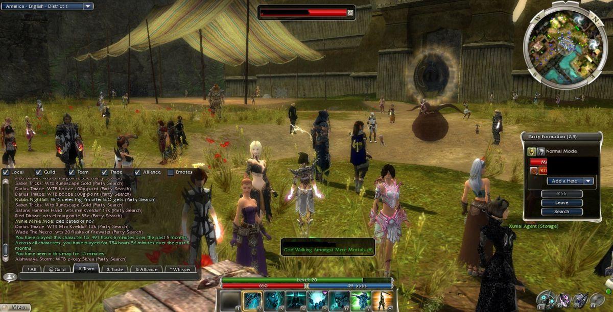 Новый Год в оригинальной Guild Wars 17090