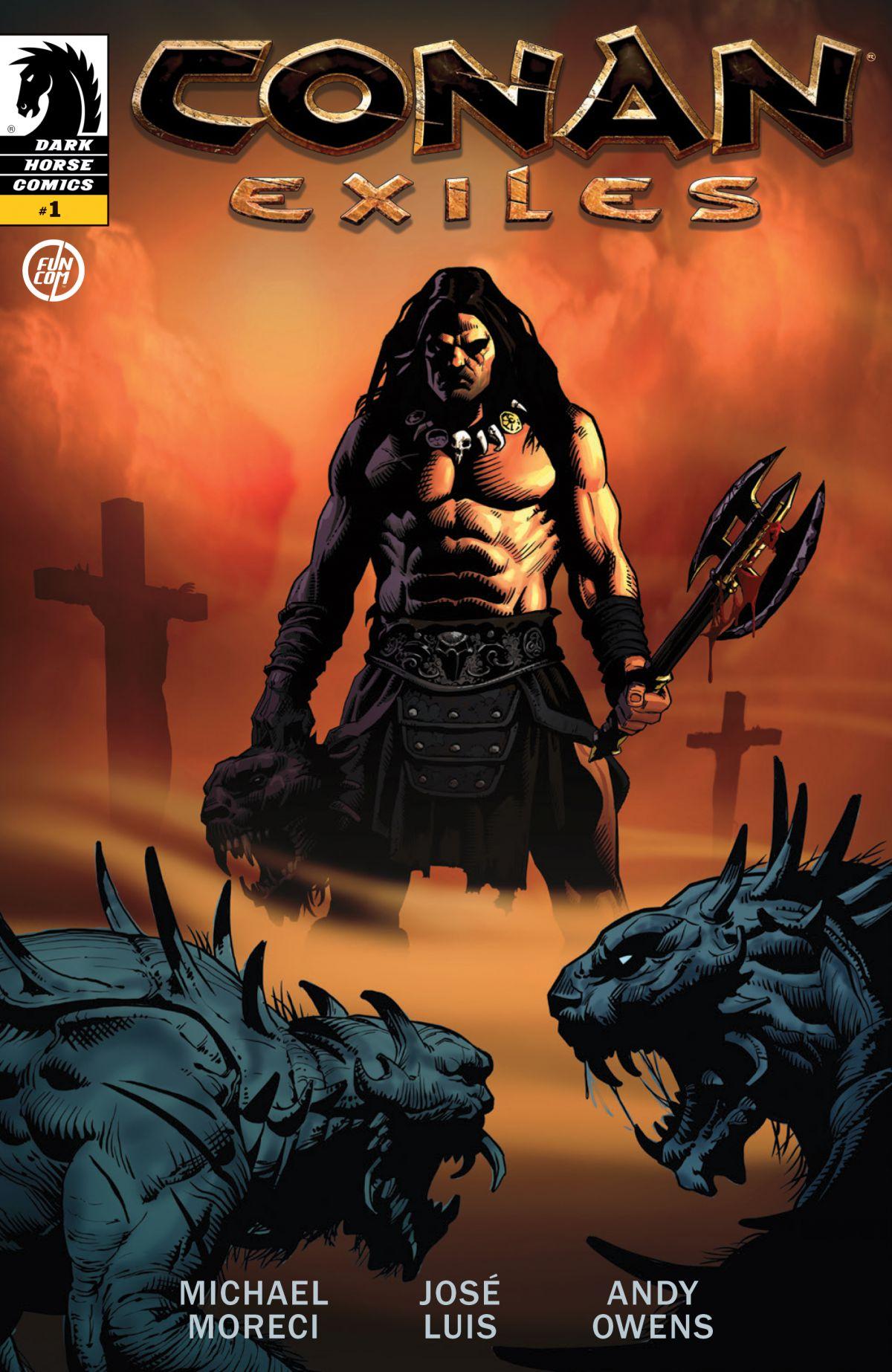 Комикс по Conan Exiles и система рабства на стриме 17114