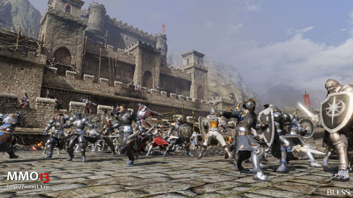 Первая война за столицу в Bless 17217