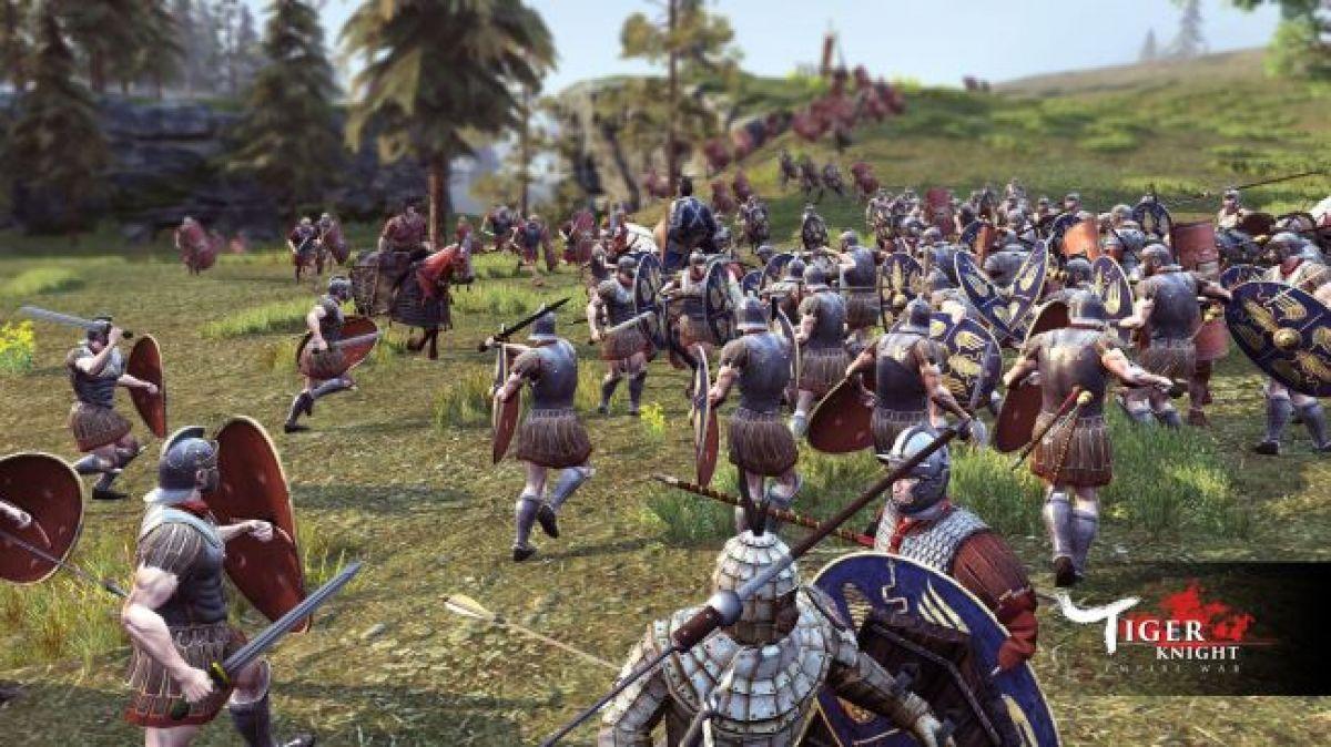 В Tiger Knight: Empire War добавят Римскую империю 17687