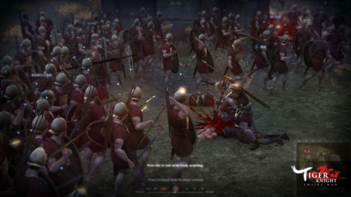 В Tiger Knight: Empire War добавят Римскую империю 17689