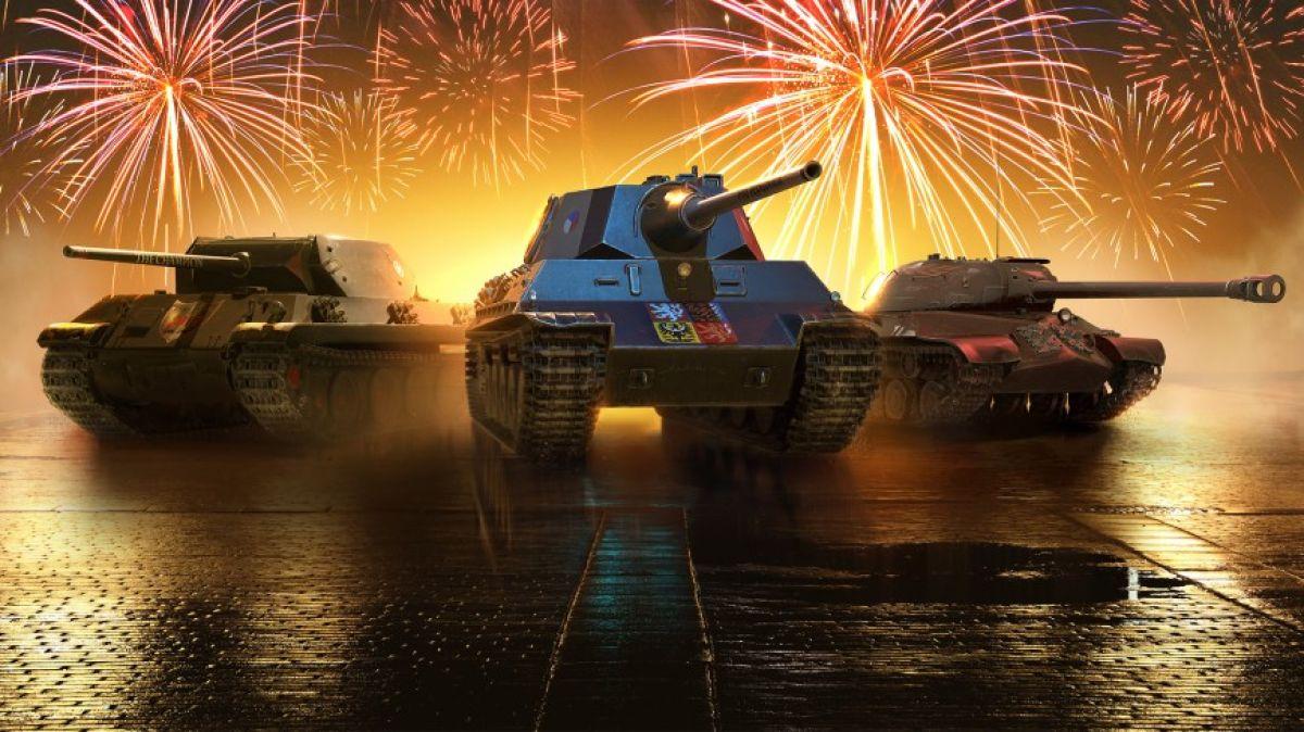 Игроки World of Tanks получат подарки в честь трёхлетия консольной версии 17837