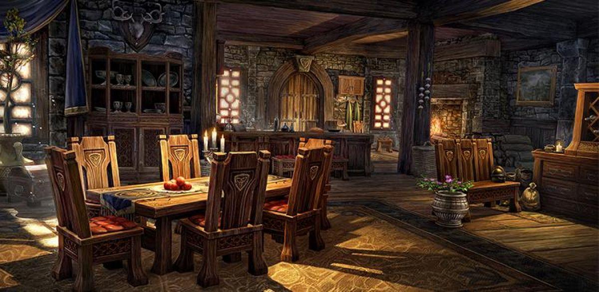 Крафт мебели в The Elder Scrolls Online 17839