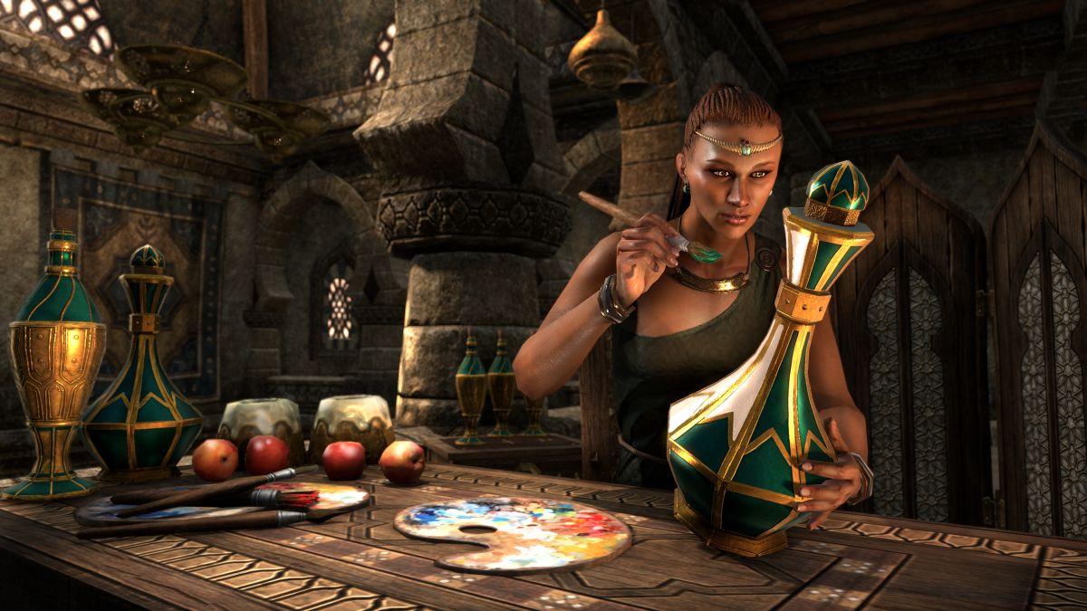 Крафт мебели в The Elder Scrolls Online 17840