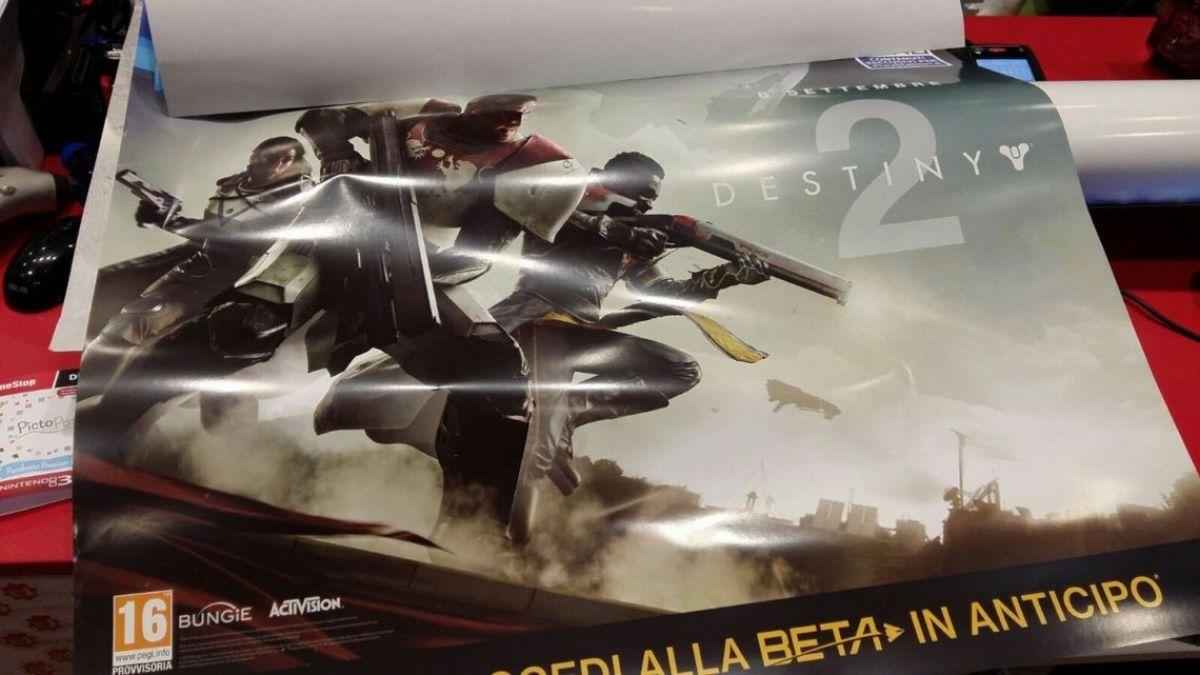В сети появился постер Destiny 2 с датой выхода 18461
