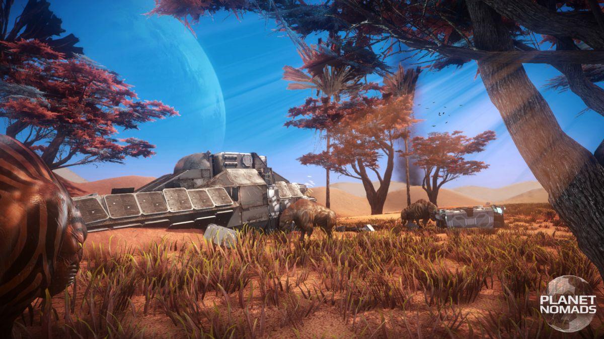 Скриншот к игре Planet Nomads v.1.0.6.3 [GOG] (2019) скачать торрент Лицензия