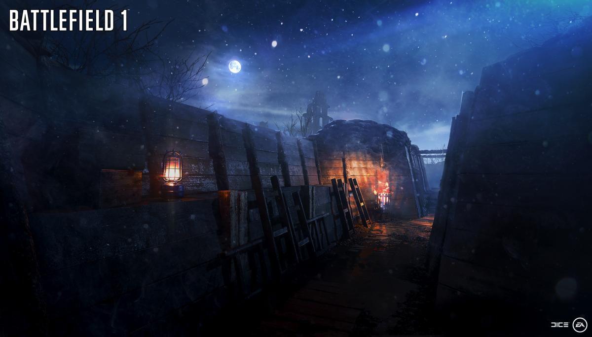 В Battlefield 1 добавят новую карту только в июне 18883