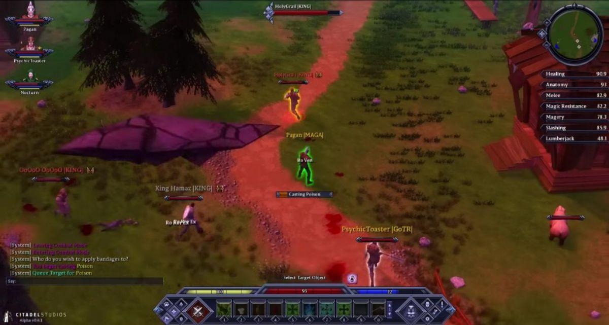 В Legends of Aria переработали боевую систему Shards Online 18901