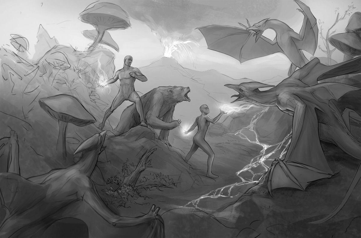 Интервью с художником The Elder Scrolls Online: Morrowind 19204