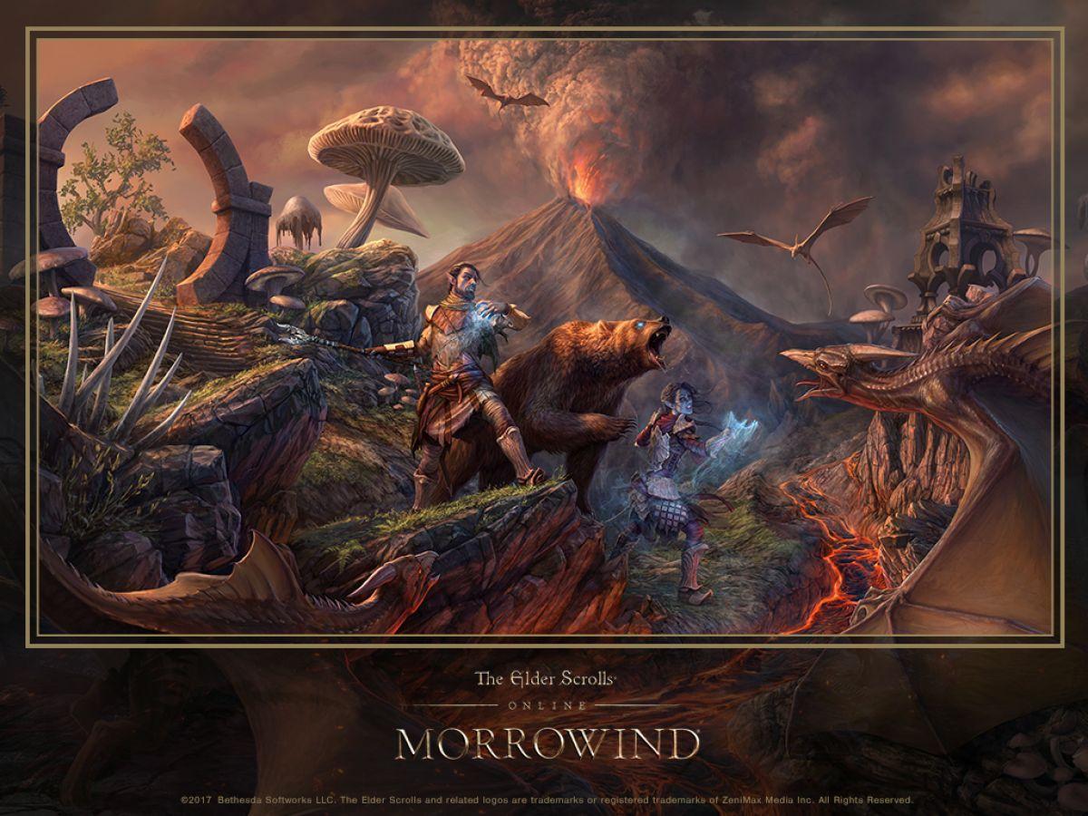 Интервью с художником The Elder Scrolls Online: Morrowind 19206
