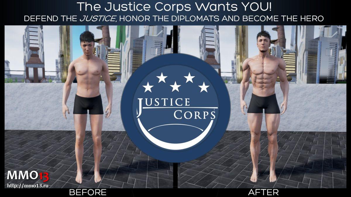 Обновленные модели мужских персонажей в Ship of Heroes 20431