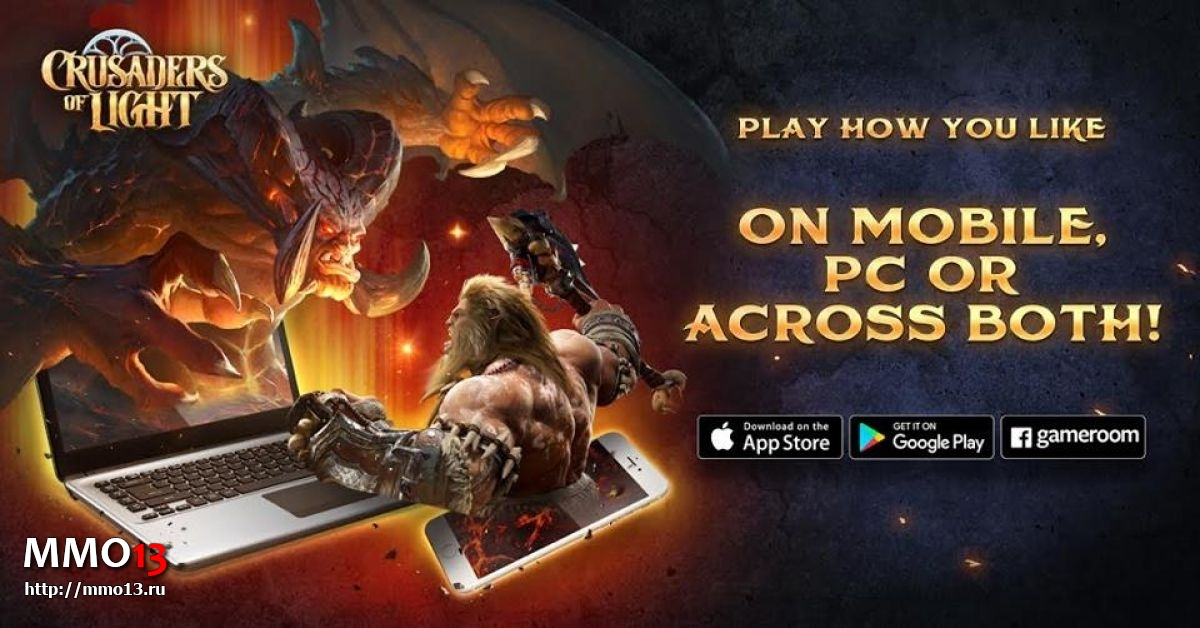 Crusaders of Light вышла на PC и Android 20525