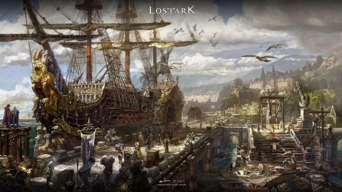 Новый концепт-арт Lost Ark: разбираем на обои! 20980