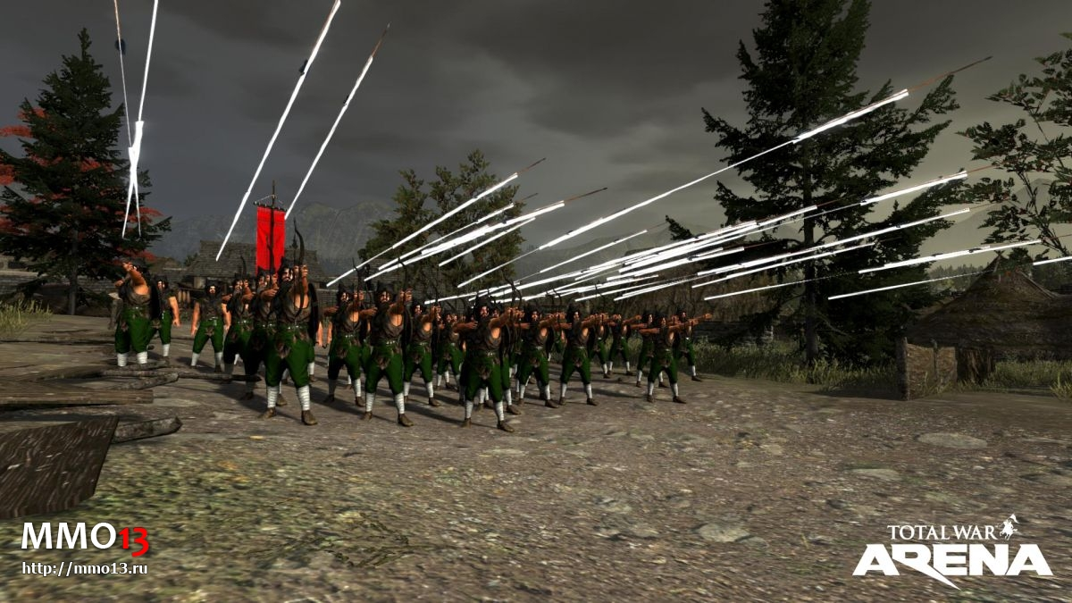 Началось ЗБТ Total War: ARENA 21172