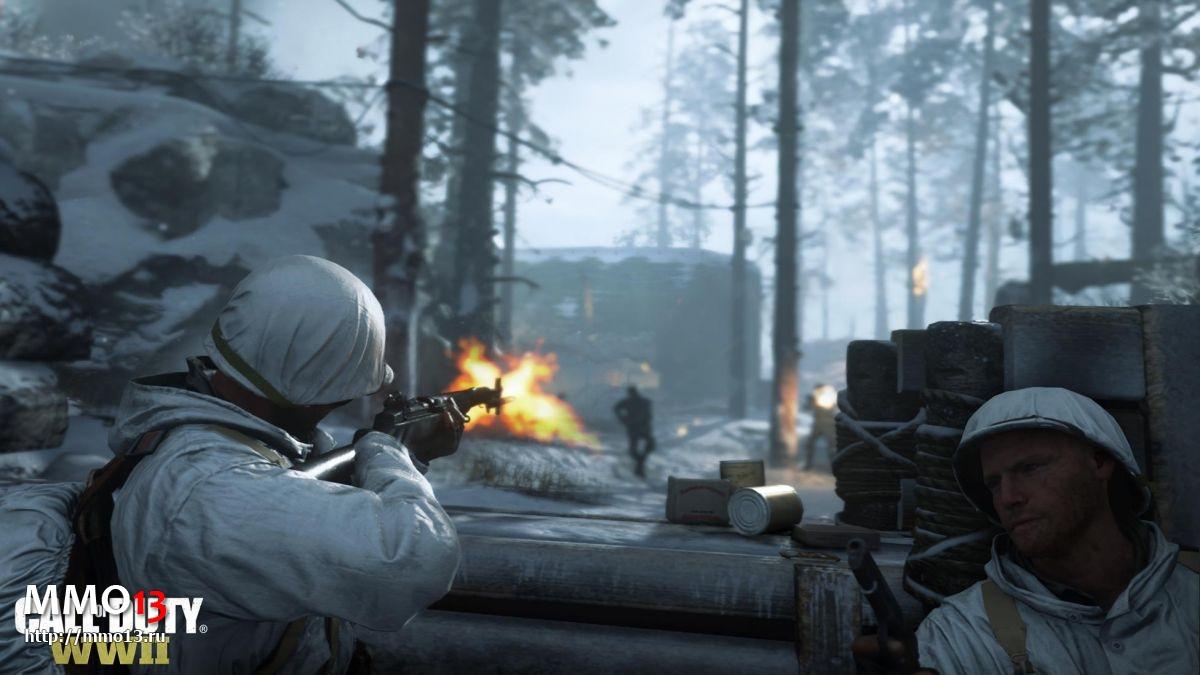 Дата начала ОБТ PC-версии Call of Duty: WWII и системные требования 21363