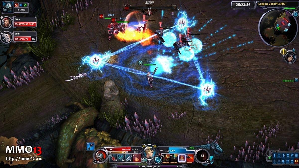 Стартовал закрытый альфа-тест Wild Buster: Heroes of Titan 21586