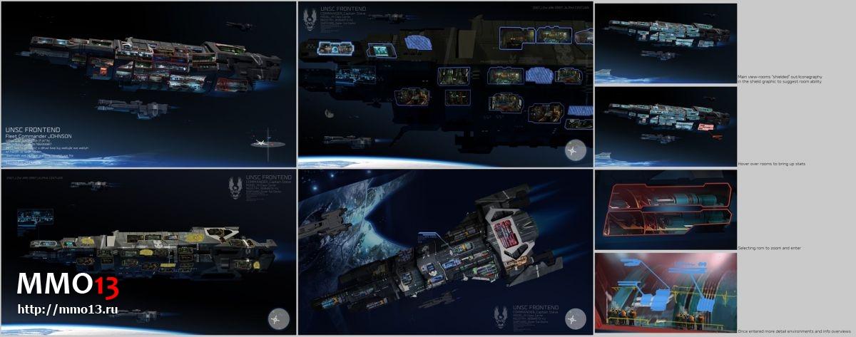 Концепт-арты отмененной Halo Wars 3 21720