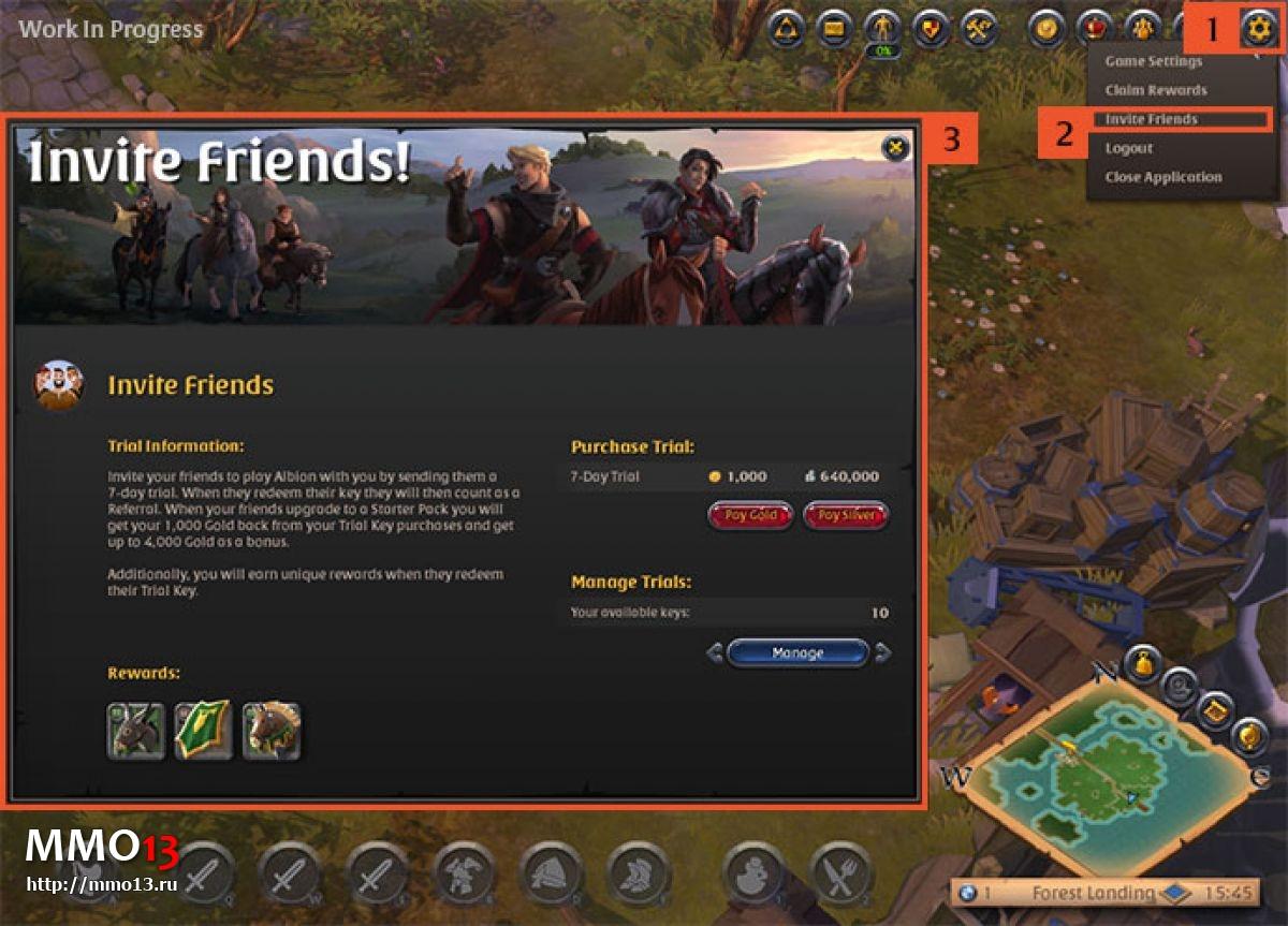 Теперь вы можете пригласить своих друзей в Albion Online 21748