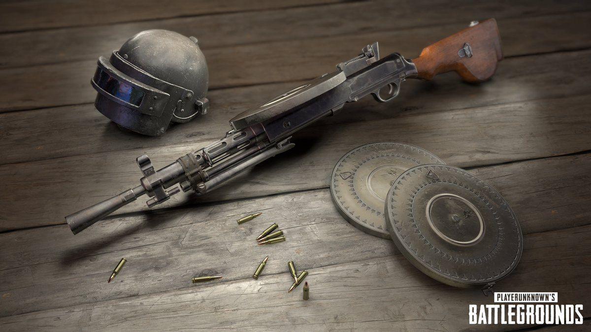 Новое оружие в PlayerUnknown's Battlegrounds 22037