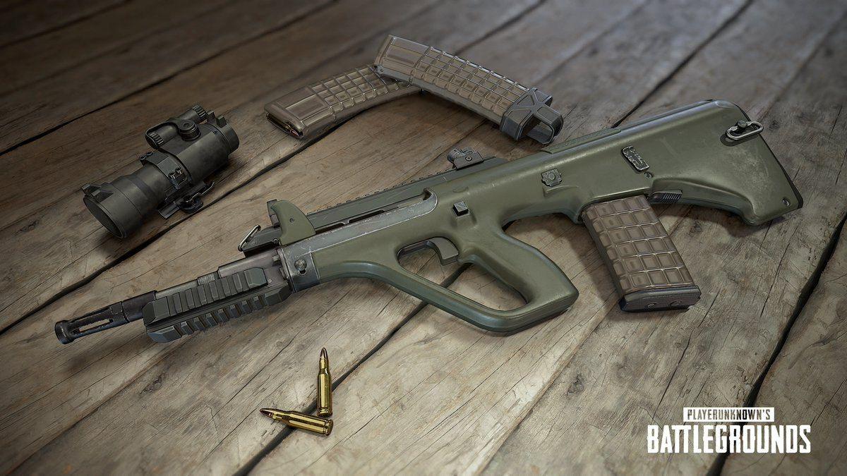 Новое оружие в PlayerUnknown's Battlegrounds 22038
