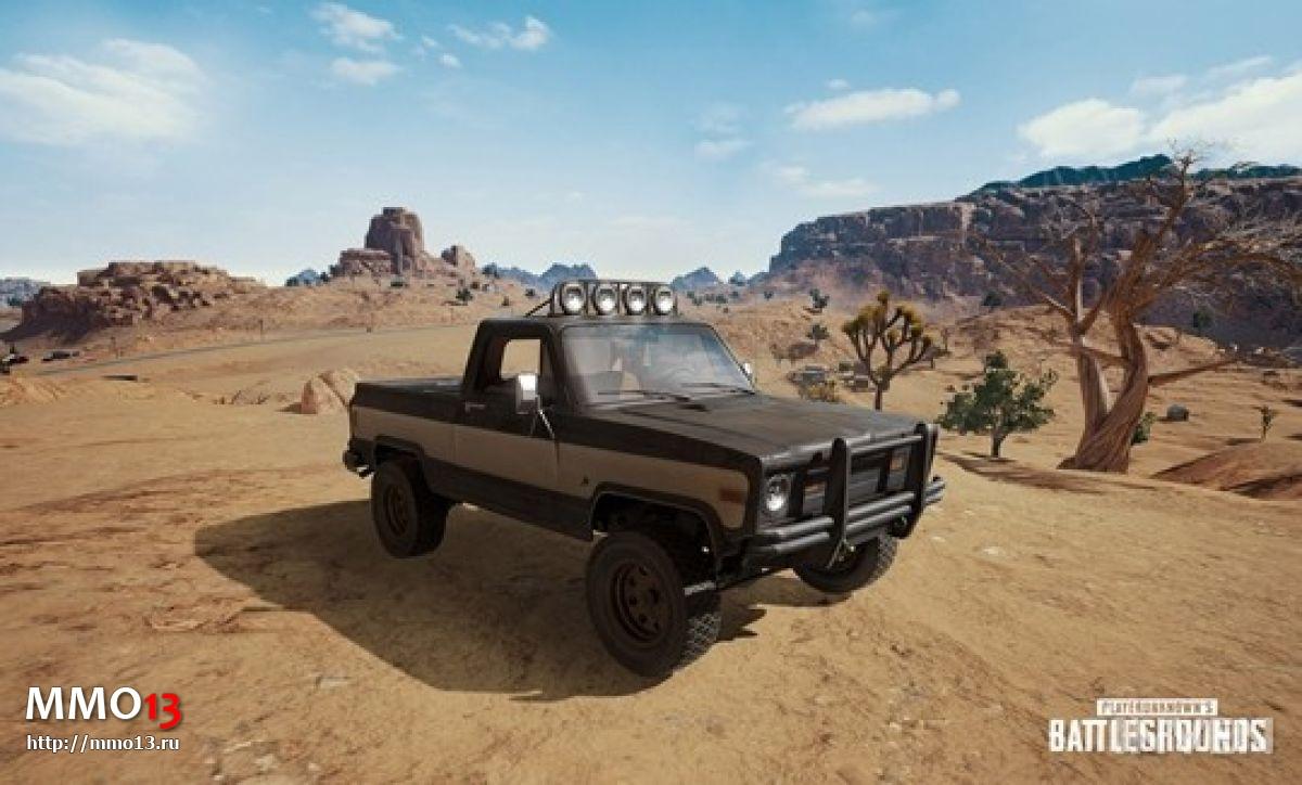 Новое оружие для пустынной карты в Playerunknown`s Battlegrounds 22210