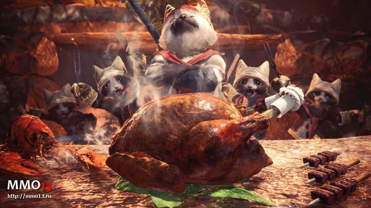 Разработчики Monster Hunter: World рассказали про PC-версию 22385