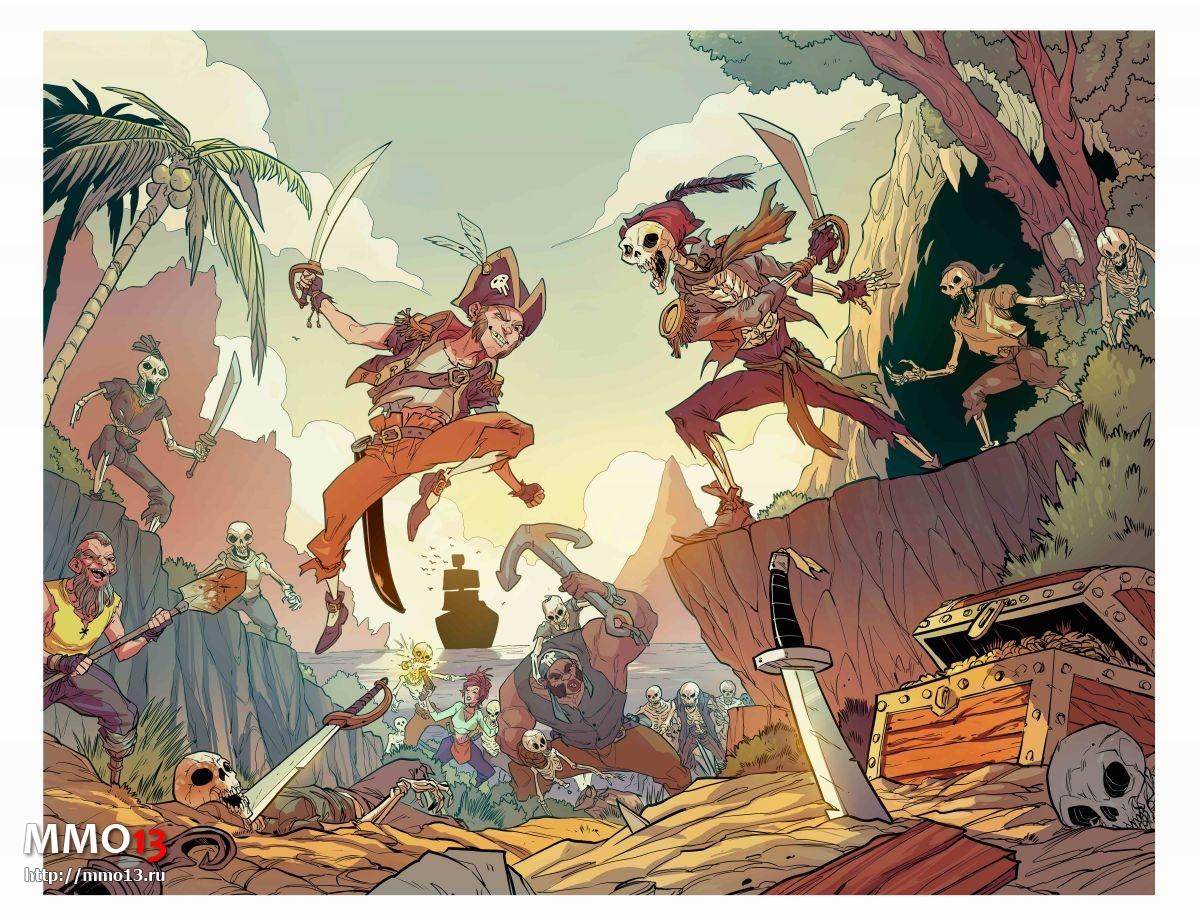 Sea of Thieves обзаведется серией комиксов 22396